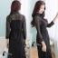 ชุดเดรสเกาหลี พร้อมส่งMini dress แขนประมาณข้อศอก thumbnail 6