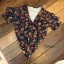 เสื้อผ้าแฟชั่นเกาหลีพร้อมส่ง ZARA RUFFLED FLORAL BODY SUITE thumbnail 6
