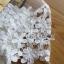 ชุดเดรสเกาหลี พร้อมส่งเดรสยาวปักประดับดอกไม้สีขาวทั้งตัวและตัดต่อผ้าโปร่ง thumbnail 11