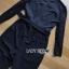 เสื้อผ้าเกาหลี พร้อมส่งจัมป์สูทสีดำตกแต่งลูกไม้สไตล์สมาร์ทแคชชวล thumbnail 16