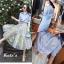 เสื้อผ้าเกาหลี พร้อมส่งกรี๊ดหนักมาก กับชุด Set เสื้อเชิ๊ตคอปกทรงยาวสีฟ้าสดใส thumbnail 13