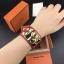 พร้อมส่งCDC Hermes Bracelet กำไลแอเมส งานซุปเปอร์ไฮเอนคะ ลายหนังวัวแท้ 100% thumbnail 6
