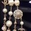พร้อมส่ง Chanel Necklace เกรดซุปเปร์ไฮเอนคะงานมุก 2 ชั้น thumbnail 5