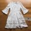 Isabelle Easy Sunday Feminine White Lace Dress thumbnail 7