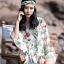 เสื้อผ้าเกาหลีพร้อมส่ง จั๊มสูท ทรงสวย คอวี thumbnail 6