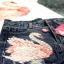 เสื้อผ้าแฟชั่นเกาหลีพร้อมส่ง ชุดเซท เสื้องานปักหงส์ตกแต่งชวาลอปกี้ thumbnail 8