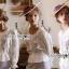 เสื้อผ้าเกาหลี พร้อมส่งเสื้อผ้าคอตตอนปักลายดอกกุหลาบสไตล์วินเทจ thumbnail 8