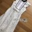 ชุดเดรสเกาหลี พร้อมส่งเดรสผ้าลูกไม้ตกแต่งระบายสีขาว-ดำ thumbnail 14