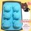 พิมพ์ยางซิลิโคน ลายน้องหมี 6 ช่อง thumbnail 1