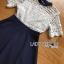 ชุดเดรสเกาหลี พร้อมส่งเดรสผ้าลูกไม้สีขาวและกระโปรง thumbnail 8