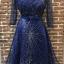 ชุดเดรสเกาหลี พร้อมส่งGalaxy Diamond Luxury Dress thumbnail 8
