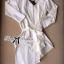 เสื้อผ้าแฟชั่น พร้อมส่ง เชิ้ตเดรสผูกโบช่วงเอวสีขาว thumbnail 6