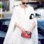 ชุดเดรสเกาหลี พร้อมส่งMini Dress สีขาว ทรงทันสมัย thumbnail 1