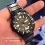 SEIKO SRP583K1 Seiko Monster Automatic นาฬิกาข้อมือผู้ชาย สีดำทอง สายสแตนเลส thumbnail 9