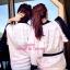 เสื้อผ้าเกาหลี พร้อมส่ง ชุดนอน Victoria สี Baby Pink เป็นโลโก้แบรน Victoria Secret thumbnail 3