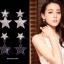 พร้อมส่ง Star Diamond Earring ต่างหูดาวงานเพชร CZ แท้ thumbnail 5