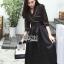 เสื้อผ้าเกาหลี พร้อมส่งเชิ้ตเดรสตกแต่งกระโปรงระบายเพบลัม thumbnail 12