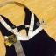 เสื้อผ้าเกาหลี พร้อมส่งชุดว่ายน้ำต้อนรับซัมเมอร์ แบบฉบับของแบรนด์ดัง Chanel Coco thumbnail 14