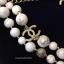 พร้อมส่ง Chanel Necklace เกรดซุปเปร์ไฮเอนคะงานหิน Howlite thumbnail 3