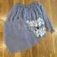 เสื้อผ้าเกาหลี พร้อมส่งเสื้อยาวผ้าชีฟองทรงเปิดไหล่ปักลูกไม้ thumbnail 11