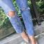 เสื้อผ้าแฟชั่นพร้อมส่ง กางเกงยีนส์ZARA ทรงขากระบอกเล็ก เอวสูง thumbnail 4