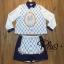 เสื้อผ้าแฟชั่นเกาหลีพร้อมส่ง เชิ้ตแขนยาว ผ้า cotton Polyester thumbnail 8