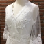 ชุดเดรสเกาหลี พร้อมส่งlong dress สีขาวคอวี thumbnail 8