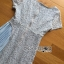 ชุดเดรสเกาหลี พร้อมส่งเดรสผ้าลูกไม้ตกแต่งคอตตอนจับพลีตสีฟ้าอ่อนสไตล์เฟมินีน thumbnail 16