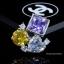 พร้อมส่ง ต่างหูเพชร CZ แท้ Fancy CZ Diamond thumbnail 4