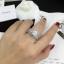 พร้อมส่ง Diamond Ring งานเพชร CZ แท้ แหวนเซตมี 5 วง thumbnail 4