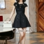 Furbelow Black Lady Dress thumbnail 3