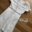 ชุดเดรสเกาหลี พร้อมส่ง เดรสผ้าลูกไม้สีขาวสไตล์แบรนด์ Self-Portrait thumbnail 8