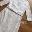 ชุดเดรสเกาหลี พร้อมส่งเดรสผ้าลูกไม้สีขาวตกแต่งเชือกผูกเอว thumbnail 15