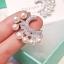พร้อมส่ง Diamond with Pearl earring ต่างหูเพชรฝังแท้ thumbnail 4