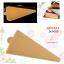 แผ่นรองเค้กสีทอง แบบสามเหลี่ยม JK0003 (100แผ่น) thumbnail 1