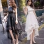 ชุดเดรสเกาหลี พร้อมส่ง Long Dress ช่วงบนทำด้วยผ้าตาข่ายลายลูกไม้ thumbnail 1