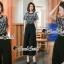 เสื้อผ้าเกาหลีพร้อมส่ง ทรงสวยดูไฮด้วยทรงจั้มสูทกางเกงขายาว thumbnail 7