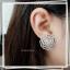 พร้อมส่ง ต่างหูเพชรดอกคามิเลีย สวยมว้ากก thumbnail 4