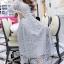 ชุดเดรสเกาหลี พร้อมส่งMiss Grey Princess Stylish Luxury Long Dress thumbnail 2