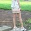 รองเท้าส้นเกาหลี งานสีขาว แบบขายดี พื้นนิ่มใส่สบาย thumbnail 3