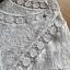 เสื้อผ้าเกาหลี พร้อมส่งเสื้อผ้าคอตตอนทอลายตกแต่งลูกไม้สีขาวสไตล์วินเทจ thumbnail 11