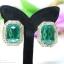 E79035 The Grand Emerald ต่างหูพลอย thumbnail 2