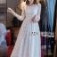 Eves Princess Style White Lace Dress thumbnail 1