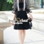 Whity Colar Blacky Flora Lace Dress thumbnail 6