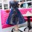 ชุดเดรสเกาหลี พร้อมส่งGalaxy Diamond Luxury Dress thumbnail 1