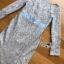 ชุดเดรสเกาหลี พร้อมส่งเดรสผ้าลูกไม้สีฟ้าไลแล็กทรงเมอร์เมด thumbnail 8