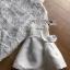 เสื้อผ้าเกาหลีพร้อมส่ง เสื้อผ้าลูกไม้ตกแต่งระบายที่คอแขนเสื้อตกแต่งริบบิ้น thumbnail 7