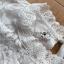 เสื้อผ้าเกาหลี พร้อมส่ง เสื้อผ้าลูกไม้สีขาวสไตล์คลาสสิก thumbnail 11