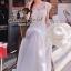 ( พร้อมส่งเสื้อผ้าเกาหลี) Korea Party Lux Long Maxi-Dress by Seoul Secret thumbnail 1