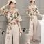 เสื้อผ้าเกาหลี พร้อมส่ง Botanica Top + Pant Set thumbnail 8